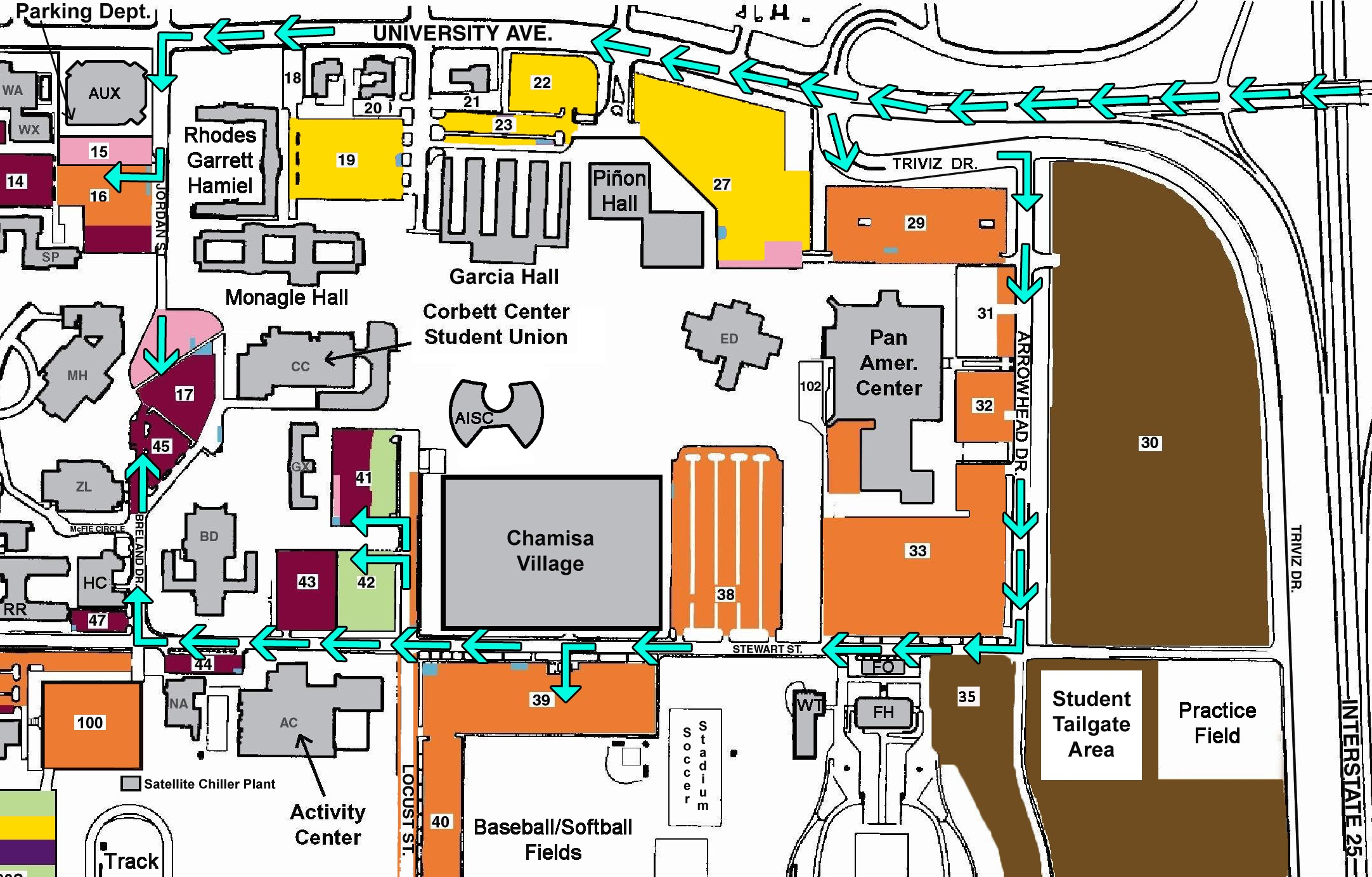 Nmsu Parking Map Orientation Day | Aggie Welcome & Orientation | New Mexico State