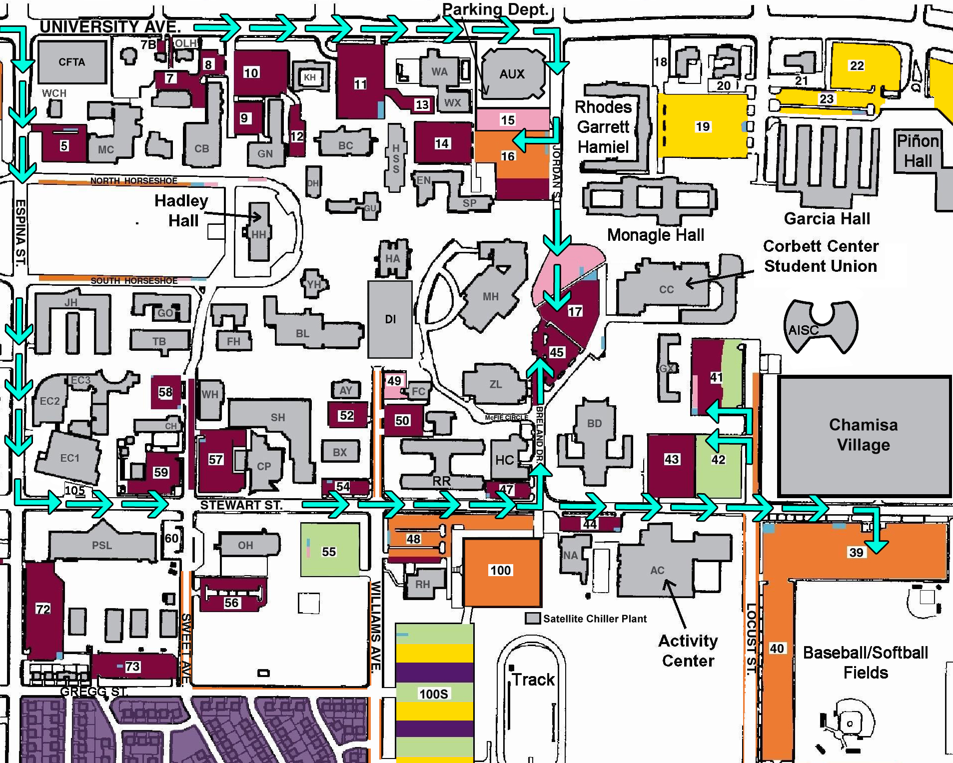 Nmsu Campus Map Orientation Day | Aggie Welcome & Orientation | New Mexico State